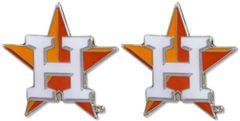 Houston Astros Post Earrings