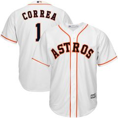 Houston Astros Carlos Correa Majestic Cool Base Player Jersey - White