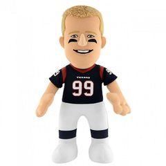 "Houston Texans Bleacher Creatures JJ Watt 10"" Plush Player Figure"
