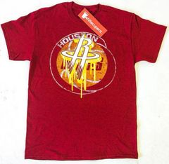 White Cup Ent. Dripping R Red / Yellow / White Houston Fan Shirt T-Shirt