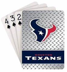 Houston Texans Playing Cards DPlate/PSG Style