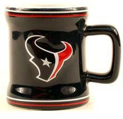 Houston Texans Shot Glasses 2oz Shot Mug Style