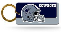 Dallas Cowboys Rico Crystal View Keychain