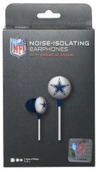 Dallas Cowboys iHip Noise-Isolating Earphones