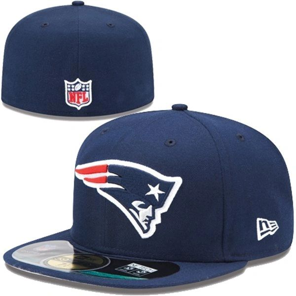 New England Patriots New Era Navy Blue On-Field 59FIFTY  1cd972c3eec8