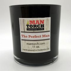 The Perfect Man soy candle | 50+ hr burn time