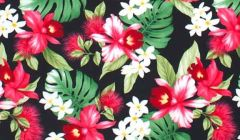 M'doridori Fabric Gift Wrap in Black Protea