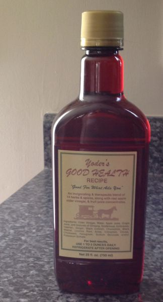 Yoder's Good Health Recipe