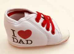 I Love Dad* baby shoes