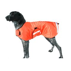 Dog Raincoat with Reflective Strips