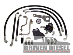 Driven Diesel 7.3 Fuel Bowl Delete Regulated Return Fuel System Kit