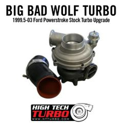HTT Big Bad Wolf Turbo - 7.3 Power stroke
