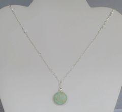 Aqua Terra Round Jasper Necklace