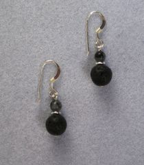Lava Rock Earrings