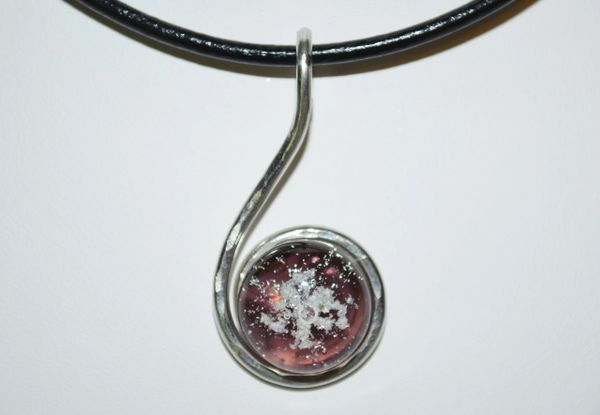 Cremation jewelry ashes necklace made in honor of your loved one please see my shop sections faq and what is the process for additional information and answers to commonly asked questions aloadofball Image collections