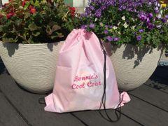 Waterproof Drawstring Dog Bag - Personalised