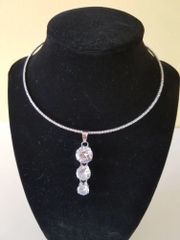 Silver Zicornia Necklace Sets