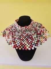 Multi-Color Collar Choker Set