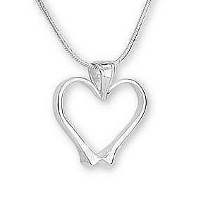 Equestrian Heart Pendant