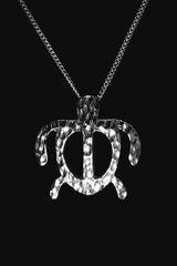 Small Silver Honu Pendant