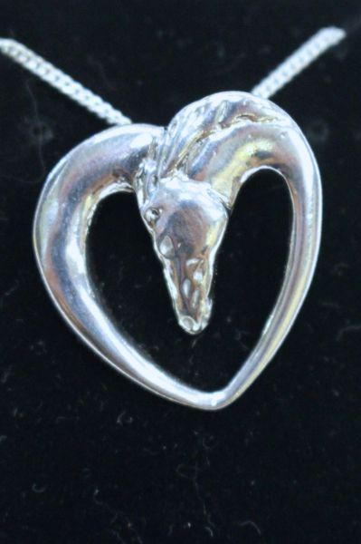 Horse Heart Pendant