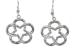 #1 Lone Star Horseshoe Earrings