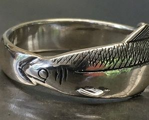 Sockeye Silver Ring
