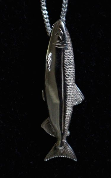 Salmon Pendant Medium