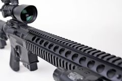 "15"" 308 DPMS LOW RISE Free Float Quad rail Handguard 15"" Picatinny Mount"