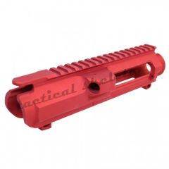 AR .308 CAL STRIPPED BILLET UPPER RECEIVER (RED)