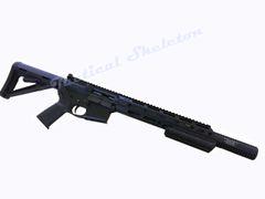 "16"" AR-15 300 Blackout Custom Rifle WITH DUAL LED HANDGUARD"