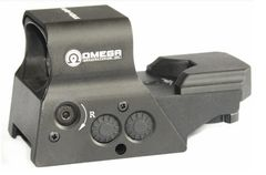 Tac Vector Optics Omega 8 Recticle solar powered Red Dot