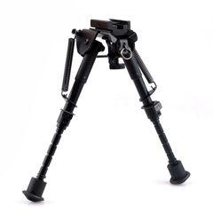 """Hunting Rifle Bipod 6"""" to 9"""" Adjustable Picatinny Mount"""
