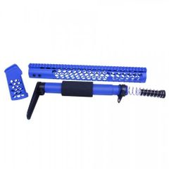 AR-15 HONEYCOMB SERIES COMPLETE FURNITURE SET (BLUE)