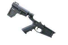 AR-10 Pistol Complete Billet Lower with BLADE STABILIZER