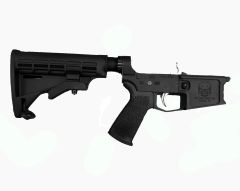 Tactical Skeleton Billet AR15 RIFLE COMPLETE LOWER