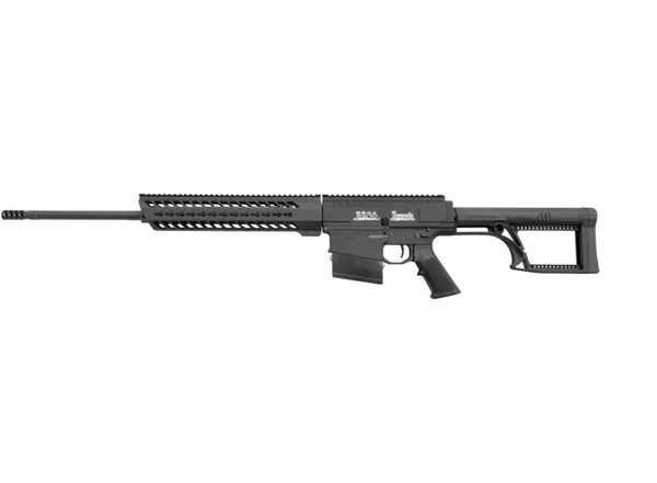 noreen bn36 300 win mag long range semi auto rifle tactical skeleton