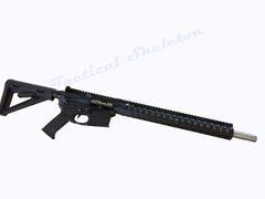 """18"""" AR-15 458 SOCOM Stainless Steel Custom Rifle"""