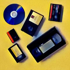 5 Video Tapes Transferred To DVDs