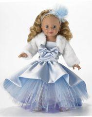 Blue Shimmer Princess Doll