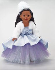 Blue Shimmer Princess Dark