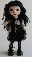 Goth Outfit With Wig