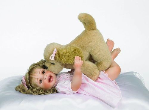 Puppy Dog Kisses Doll By Doll Maker And Friends Linda Rick Doll