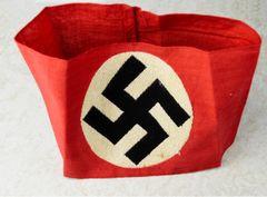 NSDAP KAMPFBINDE (NATIONAL SOCIALIST GERMAN WORKERS PARTY) ARMBAND **SOLD**