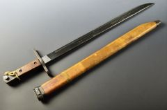 "Japanese WWII Late War Type 30 Bayonet National Denki,Arrow ""M"" Matsushita Kinzoku **SOLD**"