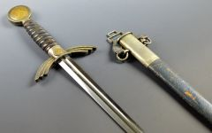 Early Luftwaffe Officers Sword By SMF (Solingen Metallwaren Fabrik)