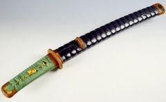 JAPANESE SWORD TANTO  IN KOSHIRAE RECENT POLISH HIRAZUKURI