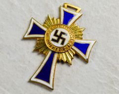 THIRD REICH MOTHERS CROSS FIRST CLASS IN GOLD **SOLD**
