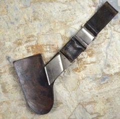 Rare Long Style RAD Reichsarbeitsdienst (Reich Labor Service) Bullet Hanger For Subordinate Hewer