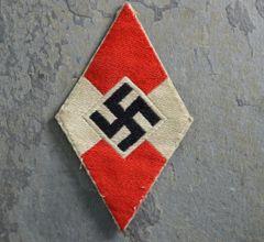 **SOLD** Hitler Youth Fabric Shirt Diamond